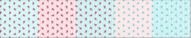 Little Roses Wallpapers at Annett's Sims 4 Welt image 1832 670x136 Sims 4 Updates