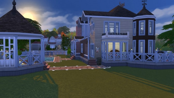 Sims 4 Renovated Victorian House by Kriint at TSR