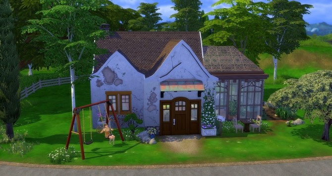 Dahlia house by Angerouge at Studio Sims Creation image 1865 670x355 Sims 4 Updates