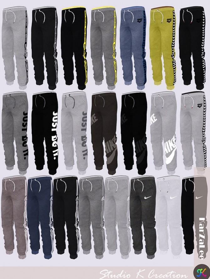 Jogger Sport Long Pants kids version at Studio K Creation image 187 670x893 Sims 4 Updates