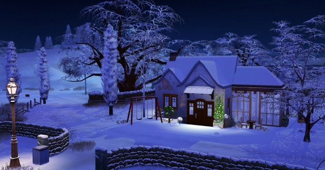 Dahlia house by Angerouge at Studio Sims Creation image 1875 670x352 Sims 4 Updates