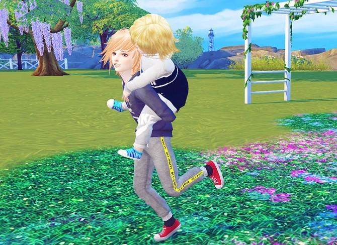 Jogger Sport Long Pants kids version at Studio K Creation image 188 670x488 Sims 4 Updates