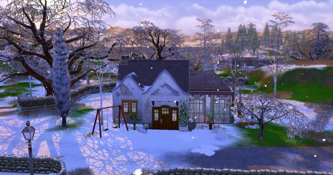 Dahlia house by Angerouge at Studio Sims Creation image 1885 670x352 Sims 4 Updates