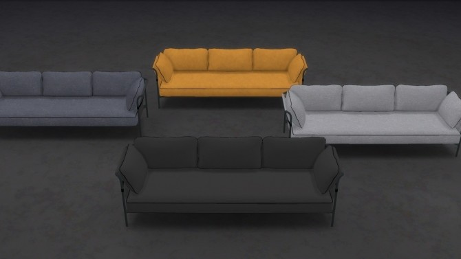 CAN SOFA at Meinkatz Creations image 1893 670x377 Sims 4 Updates