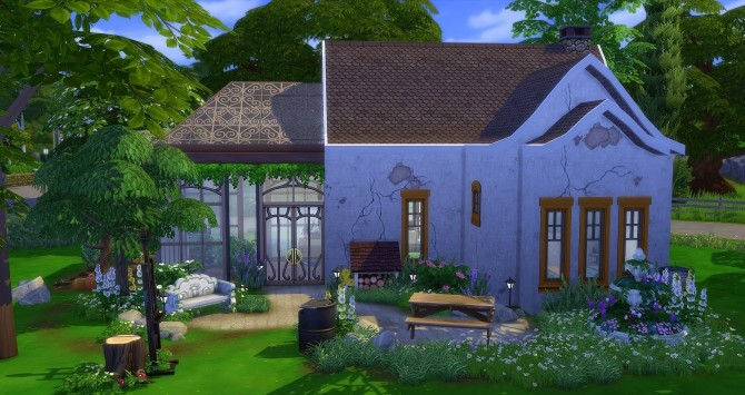 Dahlia house by Angerouge at Studio Sims Creation image 1895 670x355 Sims 4 Updates