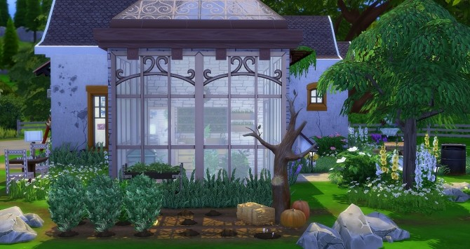Sims 4 Dahlia house by Angerouge at Studio Sims Creation