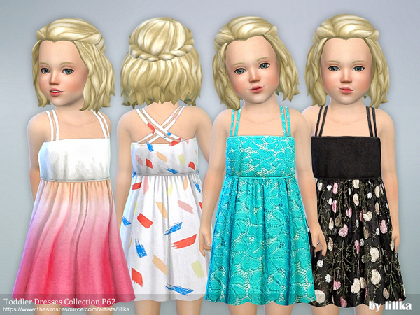 Toddler Dresses Collection P62 by lillka at TSR image 1910 Sims 4 Updates