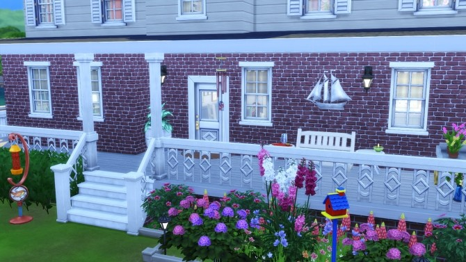 Sims 4 Family House No CC by Chaosking at TSR