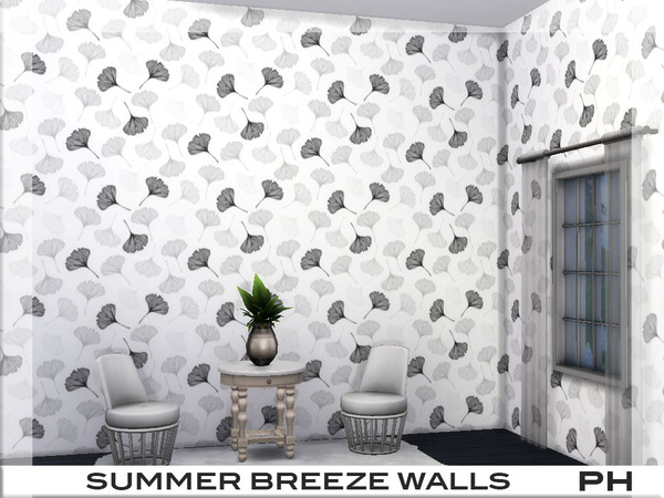Summer Breeze Walls 1 by Pinkfizzzzz at TSR image 1924 Sims 4 Updates