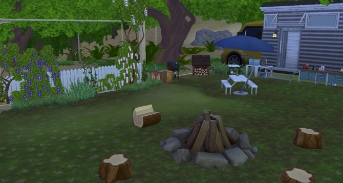 Sims 4 Camping insolite by valbreizh at Mod The Sims