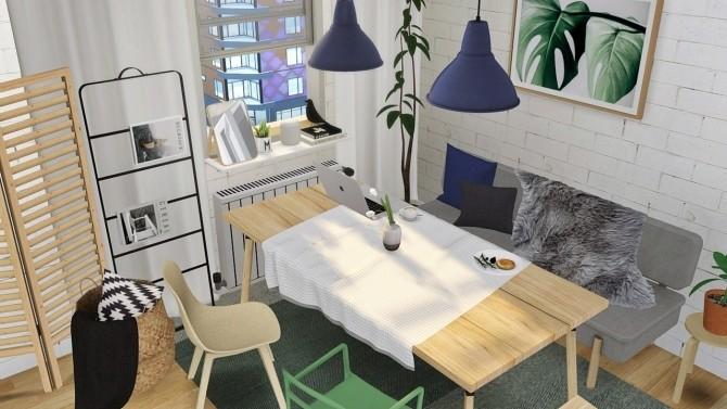 Sims 4 Dining set at MXIMS