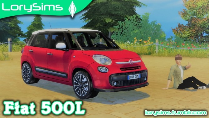 Fiat 500L at LorySims image 1985 670x377 Sims 4 Updates
