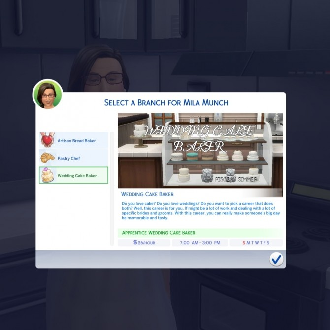 Baker Career by Piscean6 at Mod The Sims image 1991 670x670 Sims 4 Updates