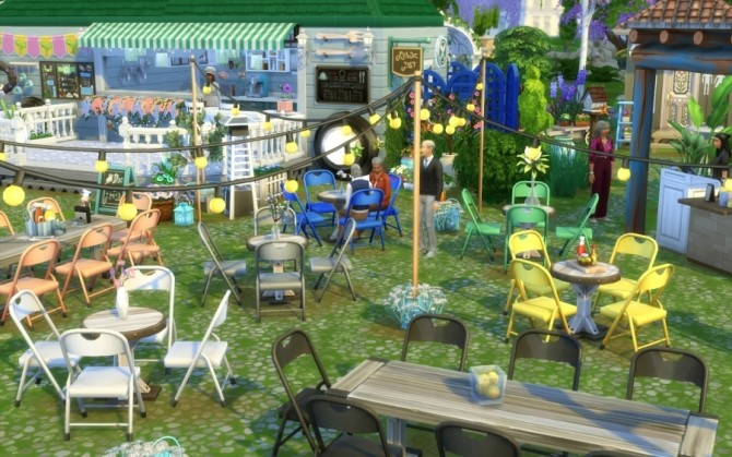 Sims 4 Food Truck Regal and You by Bloup at Sims Artists