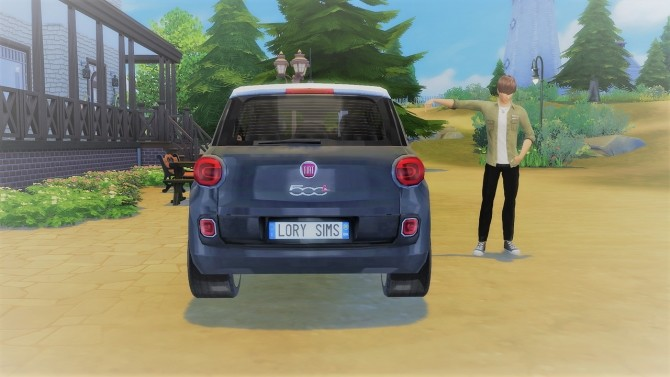 Fiat 500L at LorySims image 1995 670x377 Sims 4 Updates