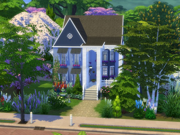 Blue Garden Grove by texxasrose at TSR image 2 Sims 4 Updates
