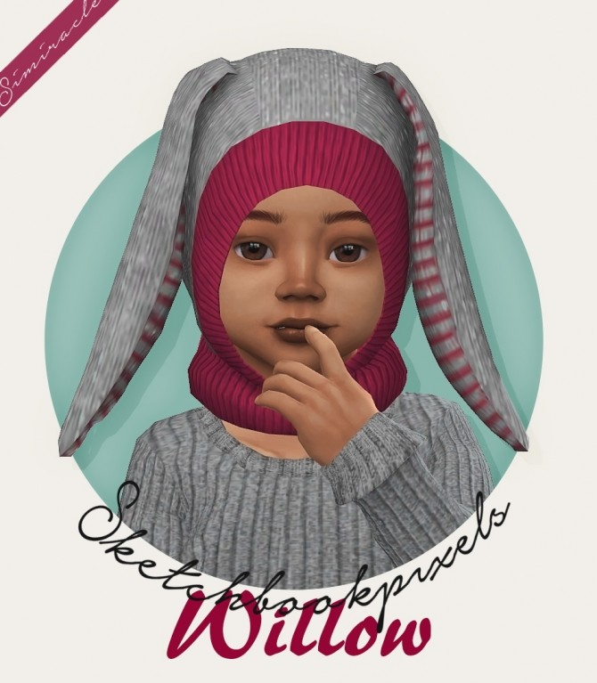 Sims 4 Sketchbookpixels Willow hat 3T4 at Simiracle