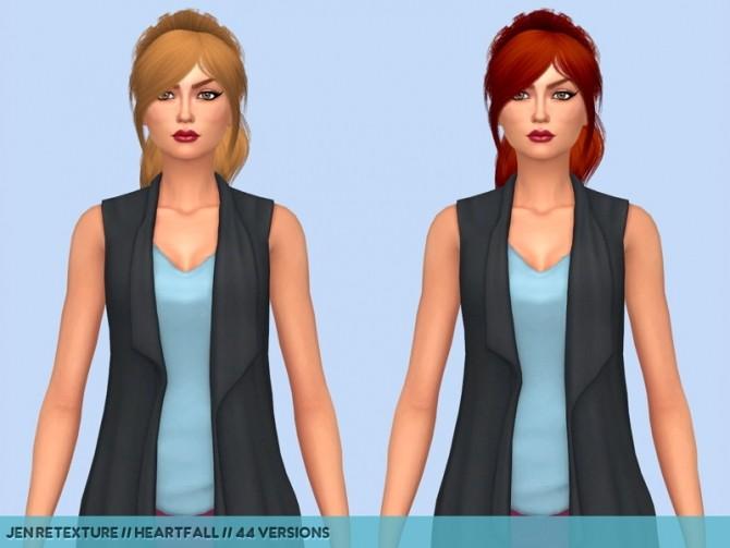 Hair retextures at Heartfall image 2003 670x503 Sims 4 Updates