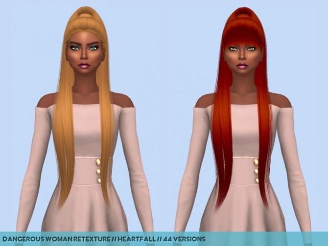Hair retextures at Heartfall image 20110 670x503 Sims 4 Updates