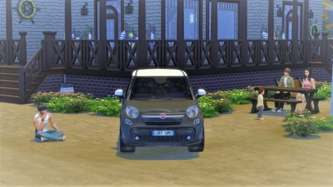 Fiat 500L at LorySims image 20112 670x377 Sims 4 Updates