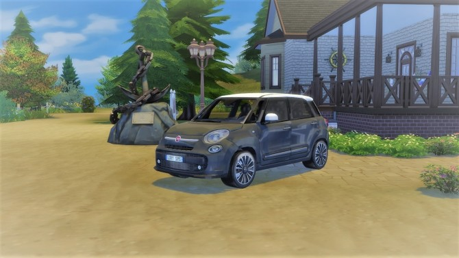 Fiat 500L at LorySims image 20210 670x377 Sims 4 Updates