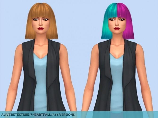 Hair retextures at Heartfall image 2033 670x503 Sims 4 Updates