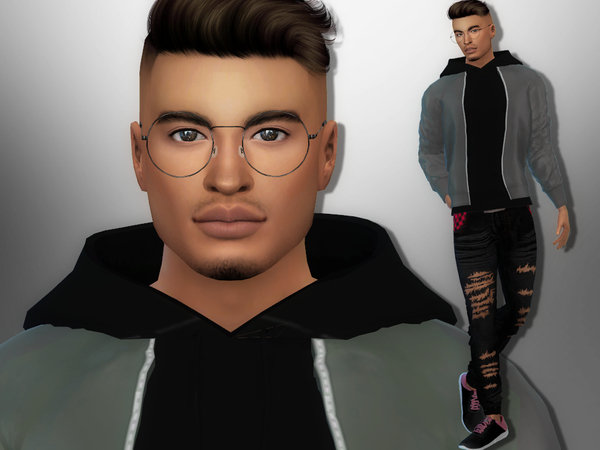 Charlie Chester by divaka45 at TSR image 2037 Sims 4 Updates