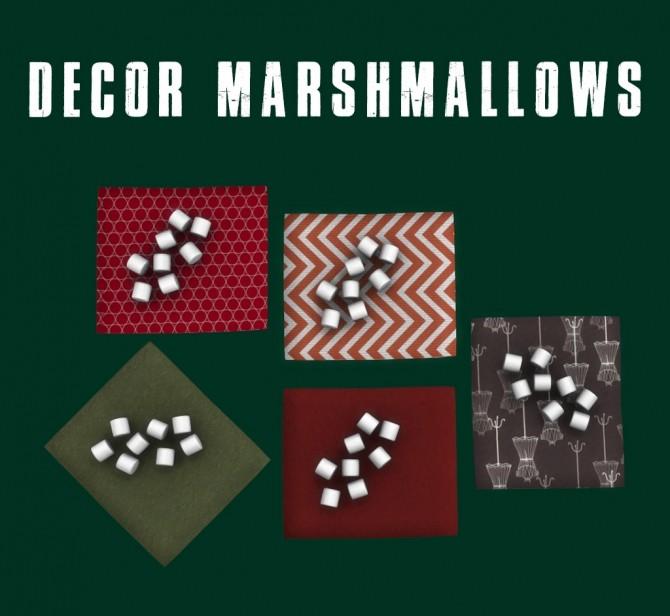Sims 4 Decor Marshmallows at Leo Sims