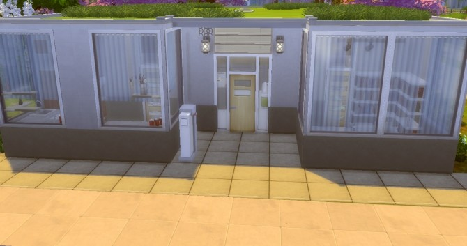 Sims 4 Simplissime house by valbreizh at Mod The Sims