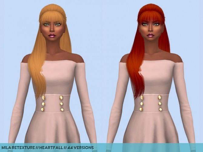 Hair retextures at Heartfall image 2043 670x503 Sims 4 Updates