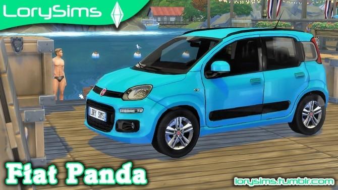 Fiat Panda at LorySims image 2085 670x377 Sims 4 Updates
