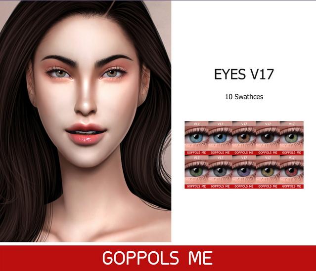 Eyes V17 at GOPPOLS Me image 209 Sims 4 Updates