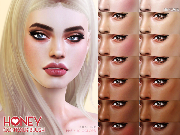 Honey Contour N46 by Pralinesims at TSR image 2110 Sims 4 Updates