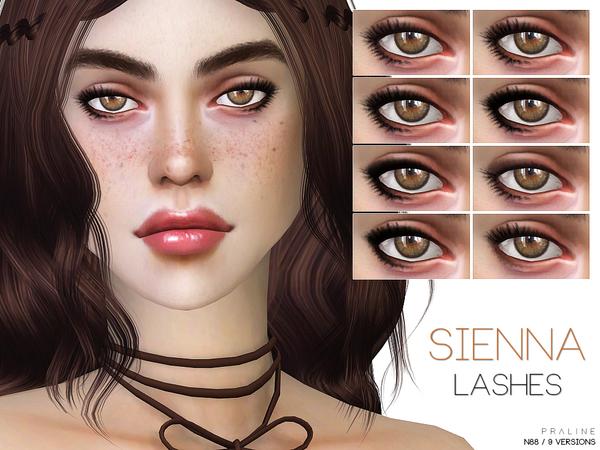 Sims 4 Sienna Eyeliner N88 by Pralinesims at TSR