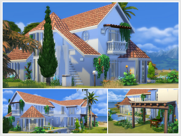 Sims 4 Galatea house by philo at TSR