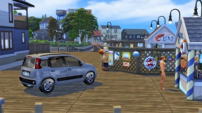 Fiat Panda at LorySims image 21210 670x377 Sims 4 Updates