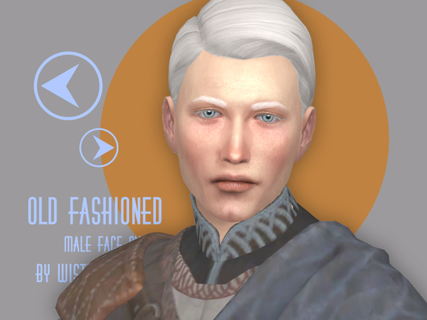 Old fashioned face overlay by WistfulCastle at TSR image 2128 Sims 4 Updates