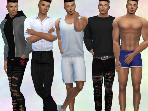 Charlie Chester by divaka45 at TSR image 2135 Sims 4 Updates