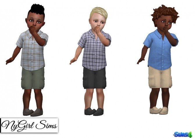 3 Piece Summer Outfit Toddler Boy at NyGirl Sims image 2152 670x474 Sims 4 Updates