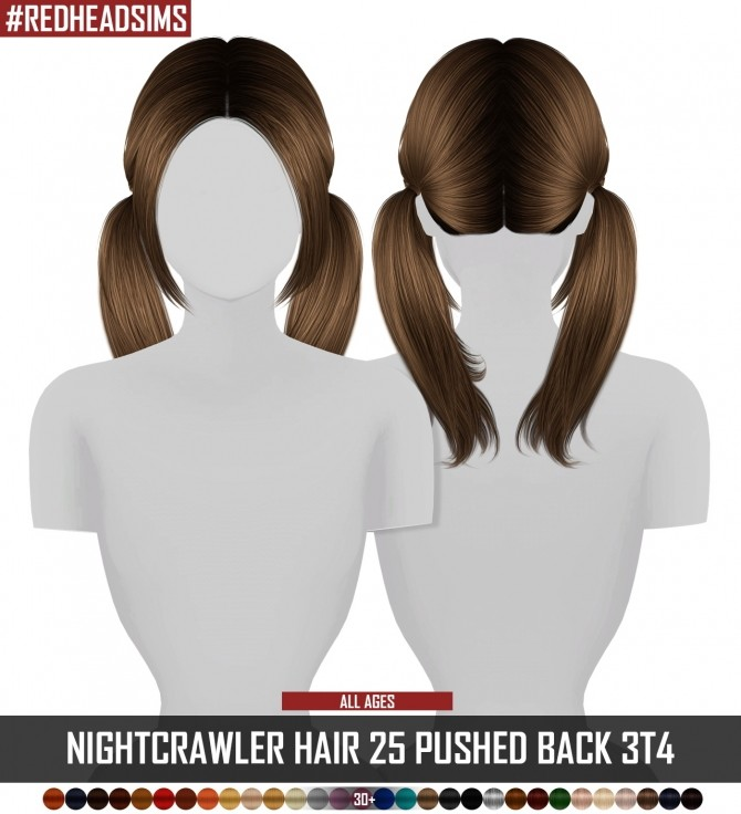 NIGHTCRAWLER HAIR 25 PUSHED BACK 3T4 ALL AGES at REDHEADSIMS – Coupure Electrique image 2210 670x736 Sims 4 Updates