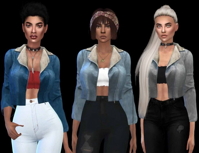 Jean Outfit at Leo Sims image 22110 670x514 Sims 4 Updates