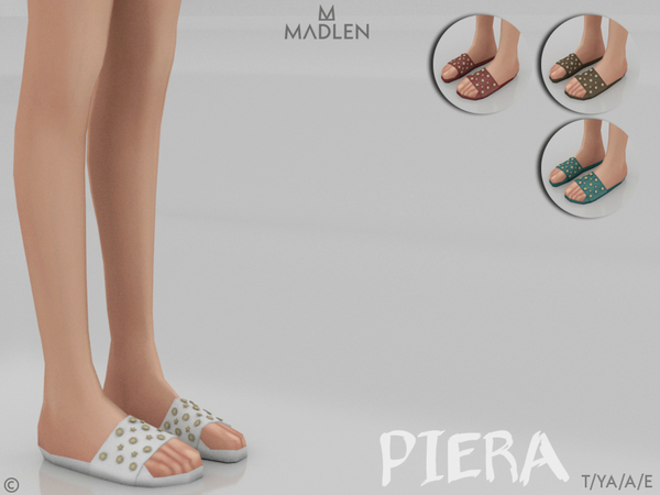 Sims 4 Madlen Piera Shoes by MJ95 at TSR