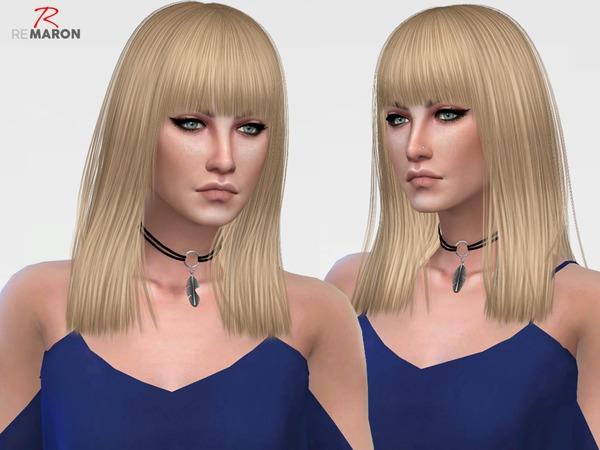Sims 4 BOOMBAYAH Hair Retexture by remaron at TSR