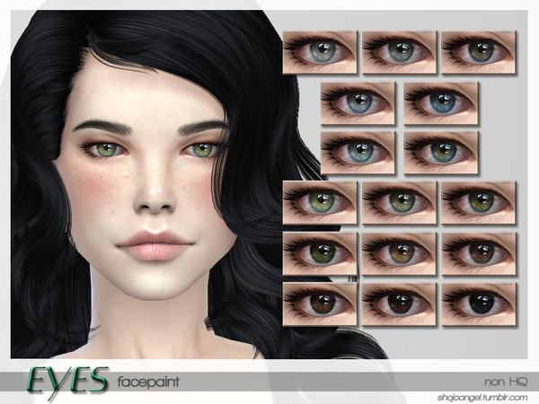 Eye Set 8 by ShojoAngel at TSR » Sims 4 Updates