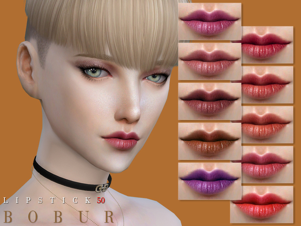 Lipstick 50 by Bobur3 at TSR image 2232 Sims 4 Updates
