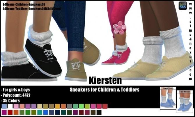 Kiersten sneakers by SamanthaGump at Sims 4 Nexus image 2291 670x402 Sims 4 Updates
