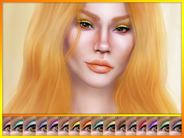 Jalene Eyeshadow by KatVerseCC at TSR image 2313 Sims 4 Updates