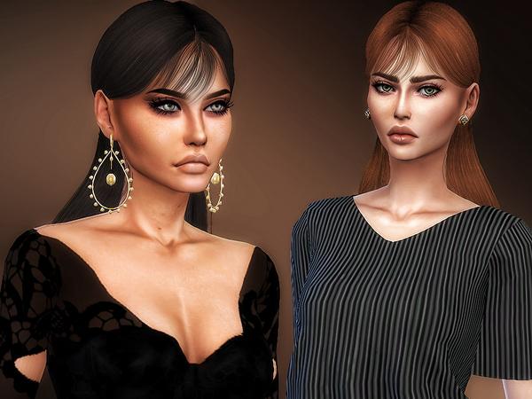 Sims 4 Wingsims OE0510 Hair Retexture by Sharareh at TSR