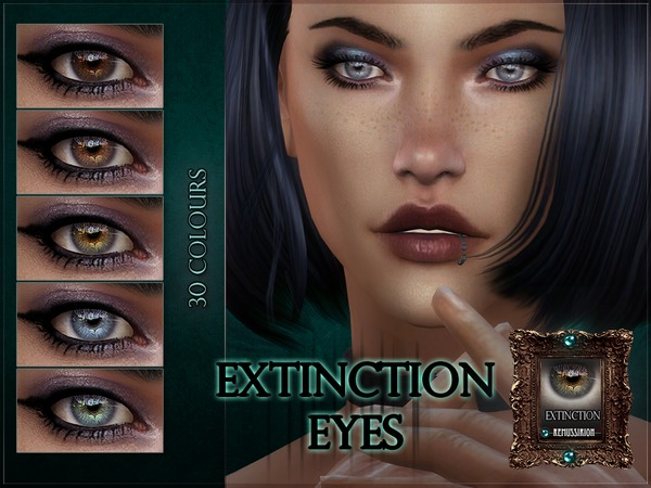 Extinction Eyes by RemusSirion at TSR image 237 Sims 4 Updates