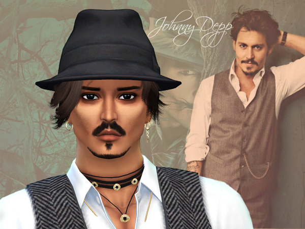 Johnny Depp by Jolea at TSR image 238 Sims 4 Updates